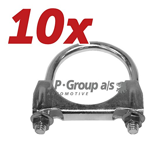 10x JP Group Klemmstück, Abgasanlage