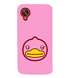 EPICCASE Happy Duck Mobile Back Case Cover For LG Google Nexus 5 (Designer Case)