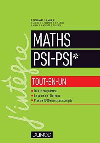 Mathématiques tout-en-un PSI / PSI* par Claude Deschamps