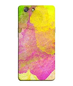Snapdilla Designer Back Case Cover for Oppo Neo 5 :: Oppo A31 :: Oppo Neo 5S 2015 (Drawing Abstract Pattern Imagination Pink Green)