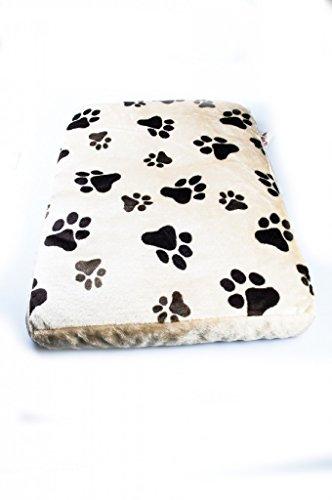 """Indoor Hundehütte """"Lucky-Deluxe"""" Hundebett mit Liegekissen Schlafplatz Buche Echtholzfurnier B / H / T 60 x 53,5 x 41 cm - 4"""