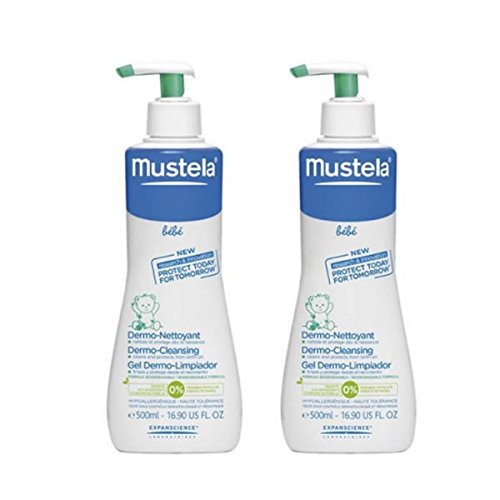 MUSTELA PACK Gel Dermo-Limpiador 2x500ML