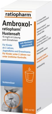Ambroxol-ratiopharm Hustensaft, 250 ml