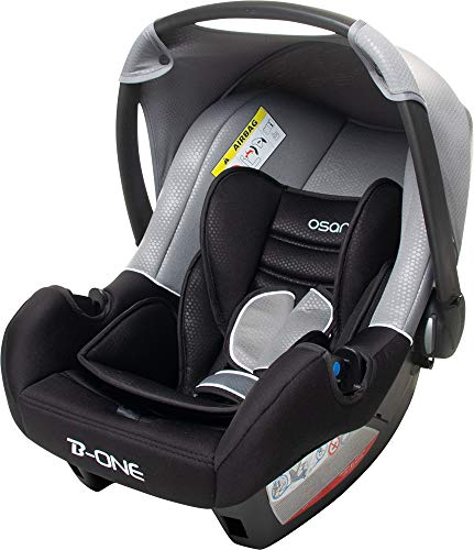 Osann Babyschale, BeONE SP Luxe Gris - ECE Gruppe 0+ (0-13 kg)