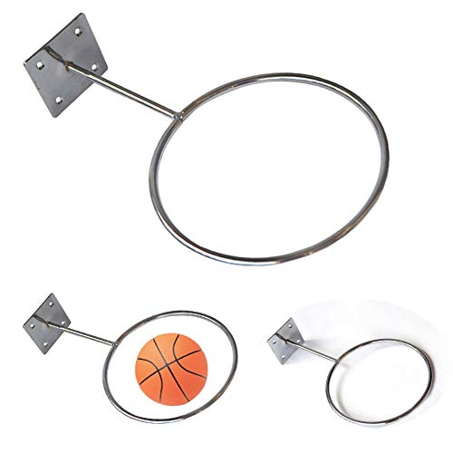 Professioneller Basketballhalter, für drinnen und draußen, zur Wandmontage, Sport-Ball-Halterung, Basketbälle, Volleybälle, Fußball-Aufbewahrungsregal -