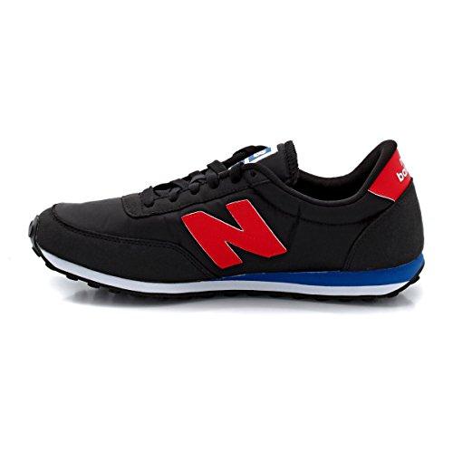 ... New Balance U410 D, Unisex-Erwachsene Sneaker Schwarz - Noir (Brb Black)