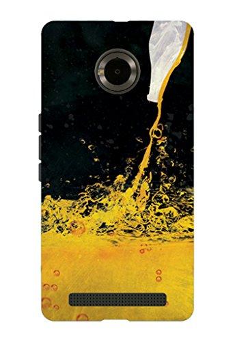 Kaira brand Designer Back Case Cover for Micromax YU Yuphoria (Alcohol)