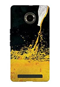 Kaira brand Designer Back Case Cover for Micromax YU Yuphoria (Alcohol)