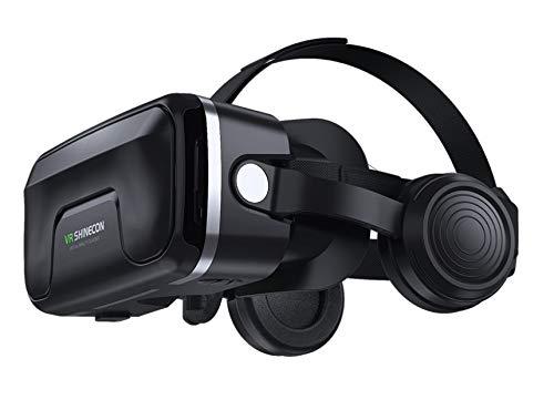 VR Brille VR SHINECON 3d VR Headset - für 3D Filme und Spiele,Video Movie Game...