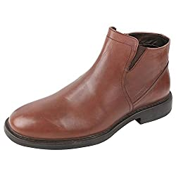 Woods Brown Formal Leather Shoes For Men (Size : 43 Euro)