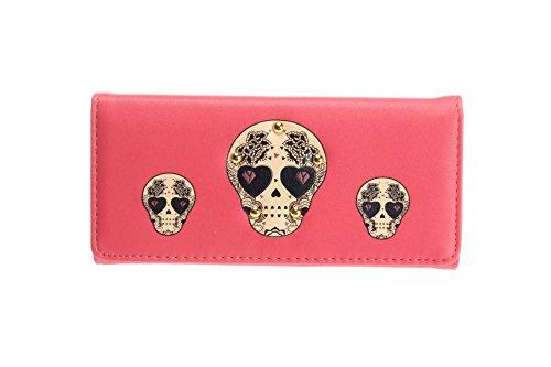 Ladies Calavera generación Wallet