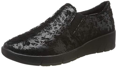 Jana 100% comfort Damen 8-8-24701-23 Slipper, Schwarz (Black 001), 41 EU