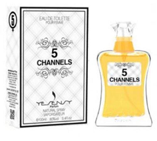 N°5 - Numéro 5 - Parfum Femme generique / Inspiré par la prestigieuse parfumerie de Luxe / Eau De Toilette 100ml - Licences Discount ( Livraison Gratuite ) - Pas cher / bas prix / Destockage