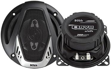 BOSS Audio NX424 Onyx 250-watt 4 way auto 4' Coaxial Speaker