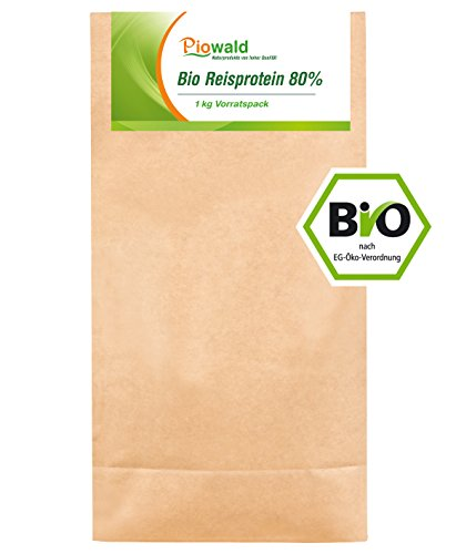 BIO Reisprotein 80% - 1 kg Vorratspackung
