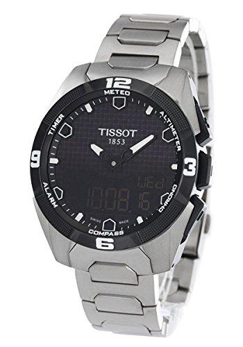 Tissot T-Touch expert solar T091.420.44.051.00 Solare Titanio Quandrante Nero Cinturino Titanio