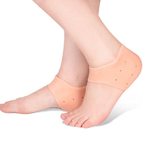 rosenice-tallone-calze-piedi-in-silicone-gel-tallone-calzini-gel-foro-cuscino-protezioni-piede-cura-