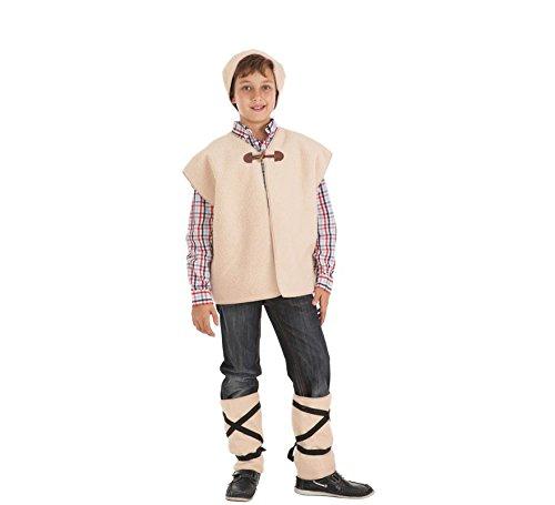 Zzcostumes Kostüm des Hirten mit Weste für Kind