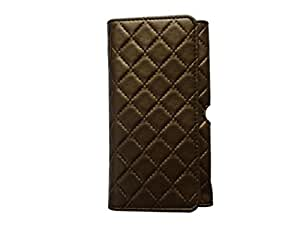 Atv Pu leather Pouch Case Flip Cover For Huawei P8(Dark Golden Rod)