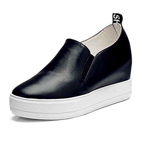 Épaisseur ronde souliers pour dames plate-forme à la fin de/Chaussures accrue de loisirs pour les femmes D
