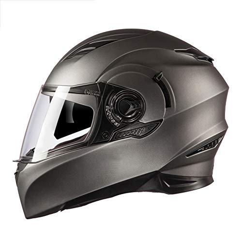 Casco-Moto-Modulare-Flip-Up-Visiere-E-Duplici-Protezione-Uv-Moto-Viso-Aperto-Casco