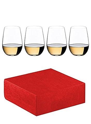 Riedel O Riesling / Sauvignon blanc White Wine Tumbler (Set of 4) + gift (Loire Sauvignon)