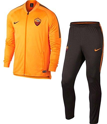 Nike M NK Dry SQD TRK Suit K as Rom Trainingsanzug, Herren L orange (Vivid Orange/Velvet Brown/Velvet Brown) -