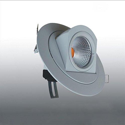Xh&Yh Lampe LED Cob Elephant Nose Intégré Plafonnier Downlight Lampe Trunk 10w Cool White (5700k) Lampe Murale