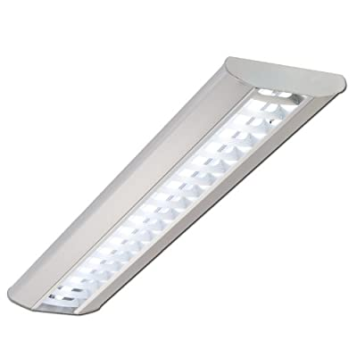 Rasterleuchte, Pendelleuchte, Bürolampe, Katja, 1x54W, T5, EVG, Deckenleuchte, Bürobeleuchtung, von TEUTO LICHT bei Lampenhans.de