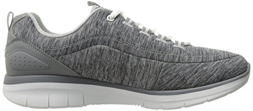Skechers Damen Synergy 2.0-Headliner Ausbilder Grau (Grey)