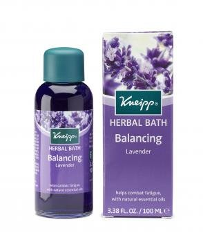 Kneipp HERBAL BATH With Natural Essential Oils LAVENDER Balances The Mind 100ml (Bath Natural Oil)