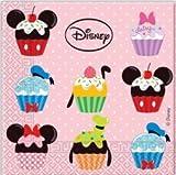 Procos 3-lagige Servietten 33x33cm Mickey & Friends Muffins