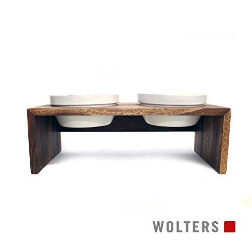 Wolters Gohan Doppelnapf teak S (2 x 0,4 L)
