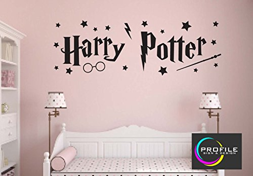 Harry Potter – Arte de pared adhesivo, Tamaño aproximado 1014 X 330 mm