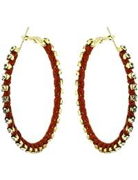 Fashion Earrings Costume Jewelry RedDangle Earrings Indian Jewellery