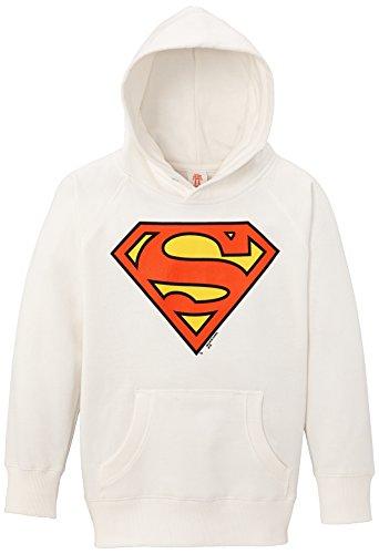 Logoshirt Jungen Superman Kapuzenpullover, Weiß (Almost White), 12-18 Monate (Herstellergröße: 18 mois (Taille fabricant80/86 (18 Kostüm Monate 12 Superman)