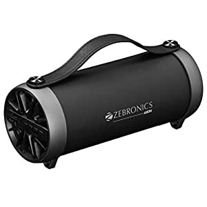 Zebronics Portable Bluetooth Speaker with AUX Function, USB Support, Micro SD Card and FM - AXON