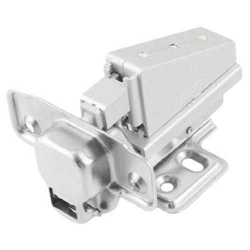 Sourcingmap a12073000ux0142 - Mobili cabinet hardware buffer di metallo nascosta cerniera w 3 led