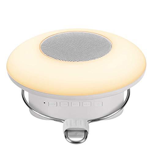 LE LED Campinglampe, Wiederaufladbare Camping Leuchte mit Haken, Touch Control RGBW Camping Latern mit Bluetooth Lautsprecher für Zelt, Notfall, Ausfälle usw.