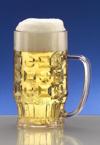 nststoffglas, 2ER-SET (Kunststoff-bierkrüge)