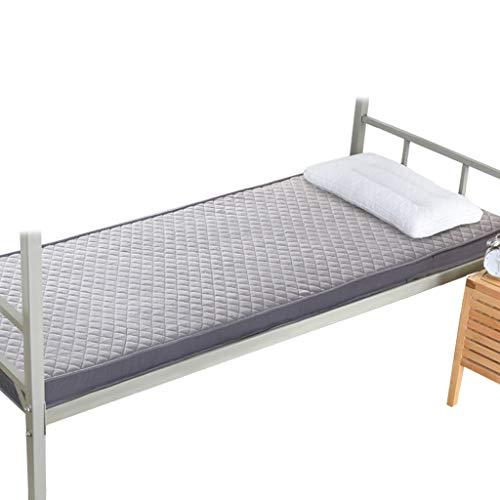 HY Colchón- Colchoneta de 5 cm de Espesor con Espuma de Memoria para una Cama de 0,9 M, colchón Familiar de Dormitorio (Color : Gray, Size : 120x200cm)