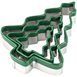tala Christmas Tree Cutters, Pack of 3