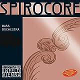 Thomastik Spirocore, Double Bass String, Single E String, 3874.5, 1/4 Size, Steel Core Chrome Wound