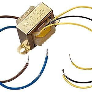 1A 30VA Transformateur avec secondaire 15-0-15 Ouputs Vac