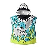 Anya Tianya - Neues Design Bademantel Cartoon Tiere Kapuzenbadetuch Pyjamas Kleidung Baby Jungen Mädchen Kinder
