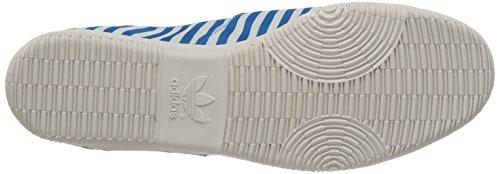 adidas  Adidrill,  Herren Durchgängies Plateau Sandalen mit Keilabsatz Solblu/Whtvap/Redbea