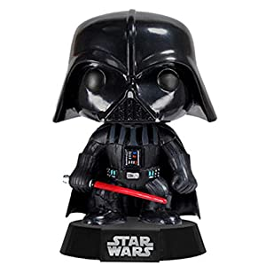 Funko Darth Vader Figura de Vinilo, colección de Pop, seria Star Wars, Color Negro, Rojo (2300) 7