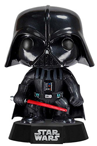 Funko Darth Vader Figura de Vinilo, colección de Pop, seria Star Wars, Color Negro, Rojo (2300) 1