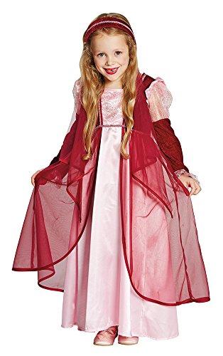 Kostüm für Mädchen Gr. 152 - Zauberhaftes Kinder Kostüm Mittelalter Mottoparty Karneval ()