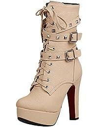 Suchergebnis auf Amazon.de für  High Heels - Beige   Stiefel ... 629818d802
